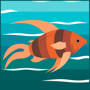 Striped Goldfish
