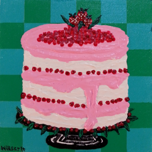 "ART 320, 2013-11-16, Project 5b, Complementary Colors, ""Tasty Cake"".png"