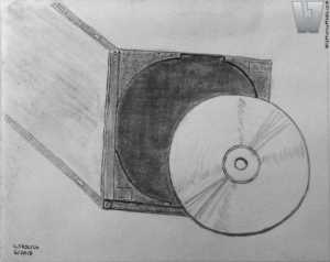 Compact Disc and Case. ©2013 Will Murray (Willscrlt)