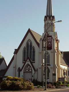 First Presbyterian Church of Napa, close-up (MVC-122F)